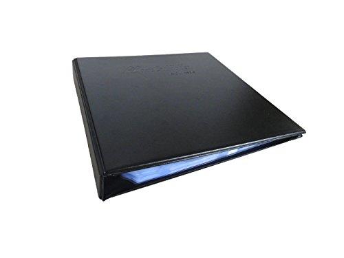 Yinglite Porte-cartes de visite Imitation cuir 240 pochettes pour 480 cartes de visite ,Classeur pour cartes de visites (480) en cuir pour professionnels (480 cartes)