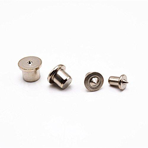 Yardwe 4 Stücke Dübel und Zapfen Bohrer Center Set Transfer Stecker Punkt 6mm 8mm 10mm 12mm für Panel Möbel Positionierung Holzbearbeitung Holz Pin Pin Pin