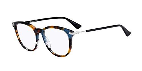 Dior Damen DIORESSENCE12 JBW 50 Sonnenbrille, Blau (Blue Havana)
