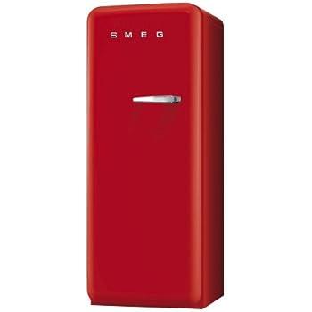 Smeg FAB28LR1 Standkühlschrank / A++ / 248 L / Rot / mit ...