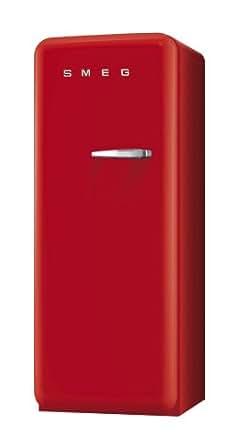 smeg fab28lr1 standk hlschrank a 248 l rot mit integriertem gefrierteil. Black Bedroom Furniture Sets. Home Design Ideas
