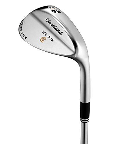 2014 Cleveland Golf 588 RTX Wedge Right Hand Satin Chrome 54°Loft, 12°Bounce