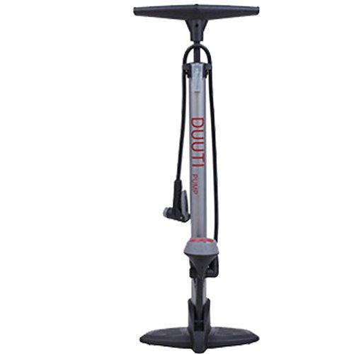 ZBSport Fahrrad-Pumpe, Ergonomische Stehpumpe mit Barometer & Intelligentem Ventilkopf, automatisch reversibel