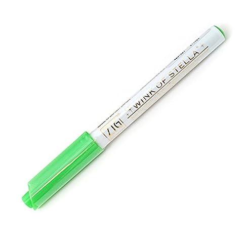 ZIG Wink of Stella Glitter Marker Pen 040 Green