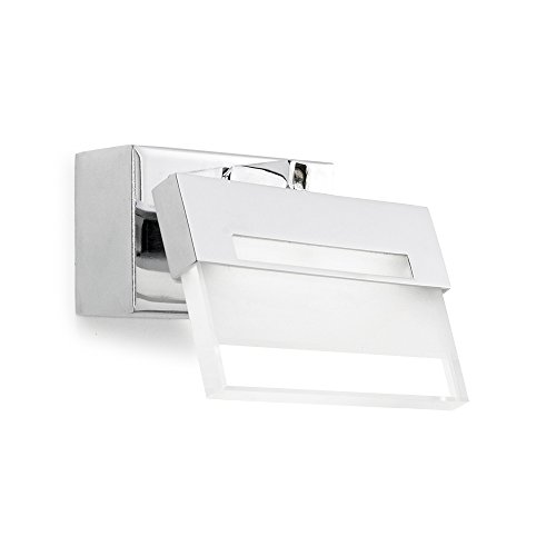 Murale X 1led Faladesa W 4 5 Applique Chrome zLSUVpjqMG