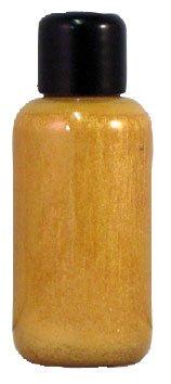 Body Gold Kostüm Paint - Eulenspiegel 650776 - Professional Liquid Aqua Schminke - 100 ml - Perlglanz-Gold