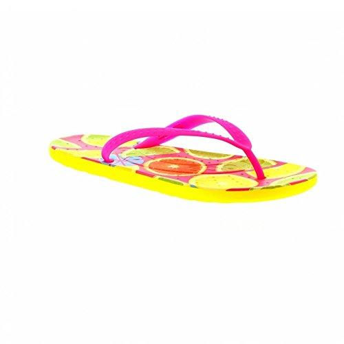 Crocs Unisex Schuhe Herren und Damen 204159 Chawaii Fruit Flip Mehrfarbig (7C1-lmn), EU 36/37 (Capris Crocs Womens)