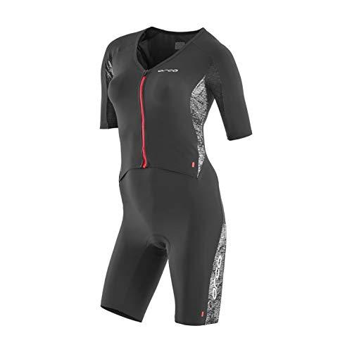 Orca 226 Kompress Aero Race Suit Women Orange-Black Größe S 2019 Triathlon-Bekleidung