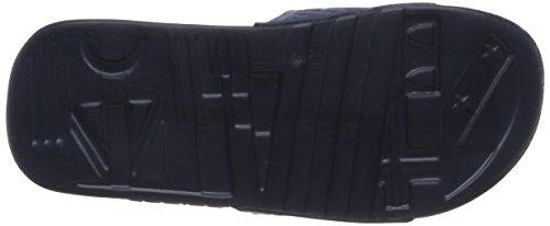 adidas Voloossage, Chaussures de Plage et Piscine Homme Bleu (Collegiate Navy/Ftwr White/Collegiate Navy)