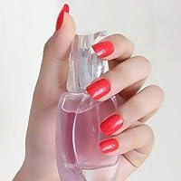 FARMERLY 2018 24pcs short paragraph new cute candy color hot buy fake fingernails complete 22 color Can choose: SNP63