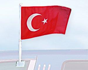 Autoflagge Türkei 27 x 45 cm