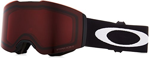 Oakley Unisex-Erwachsene Fall Line 708505 0 Sportbrille, Schwarz (Matte Black/Prizmsnowrose), 99