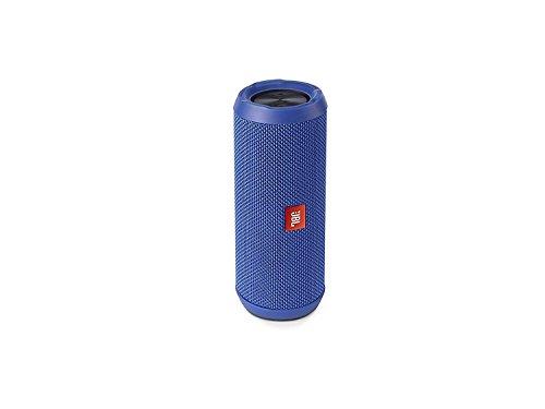JBL Flip 3 Spritzwasserfester Tragbarer Bluetooth-Lautsprecher mit außerordentlich Kraftvollem Klang im Kompakten Design, blau
