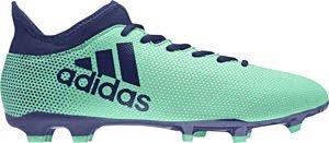 adidas Herren X 17.3 FG Fußballschuhe, Weiß, 16 EU AERGRN/UNIINK/HIREGR