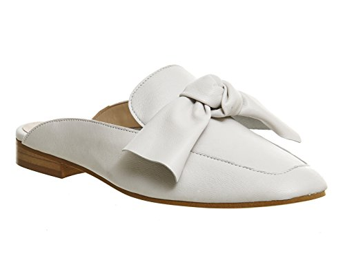 Unbekannt, Ballerine donna Off White Leather
