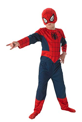 Kinderkostüm Ultimate Spiderman Classic (Größe L für 7 -