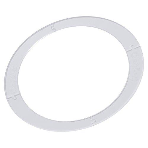 Betty's Dampfgarpapier Schablone - 2 in 1 passend für den Varoma® des Thermomix® zur Herstellung von passgenauem Backpapier mit und ohne Rand
