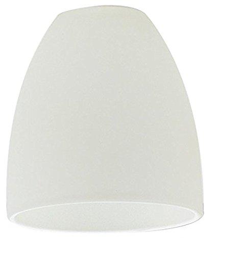 90266 Lampenschirm, Glas, Weiß