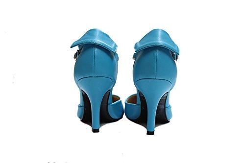 CFP , Bride de cheville femme bleu ciel
