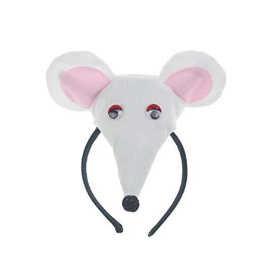 (Haarband mit Maus - Tierkostüm für Ostern Halloween Party Cosplay Kostüm)