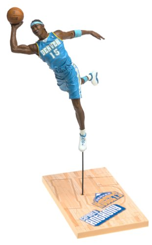 Carmelo Anthony (McFarlane Toys NBA Sports Picks Series 6 Action Figure Carmelo Anthony (Denver Nuggets) White Jersey Variant)