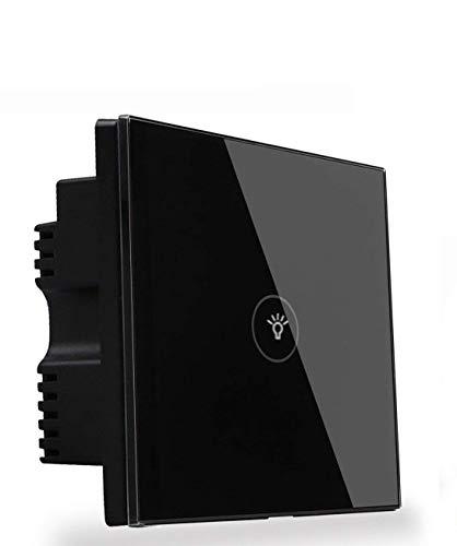 Interruptor inteligente de pantalla táctil de cristal para adultescentes, con wifi, compatible...