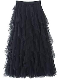 ce0dd6c17d Amazon.it: gonne lunghe nere: Abbigliamento