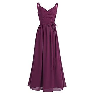 Robe de demoiselle d'honneur violet rose bordeaux rose pas cher