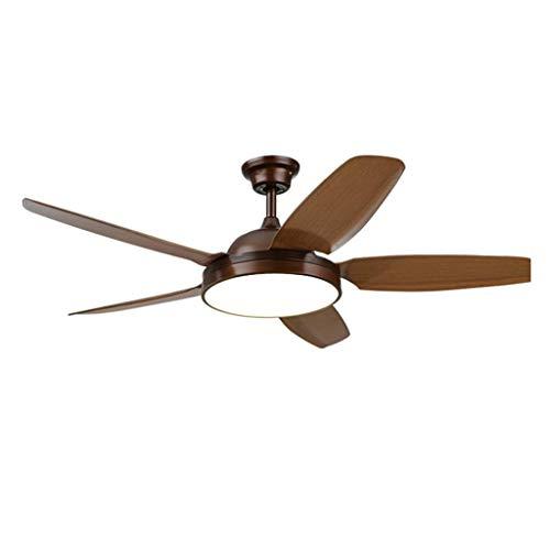luz ventilador de techo, con control remoto de la lámpara 110 casa...