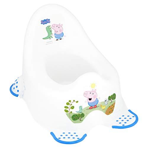 Peppa Pig Pot stable pour enfants Avec pieds antidérapants - Prince George