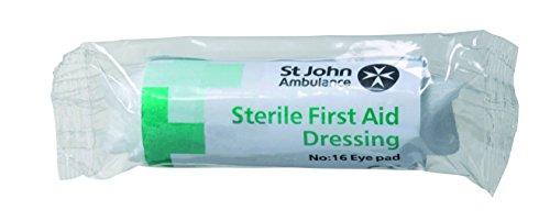 St John Ambulance Nummer 16 Augenpflaster