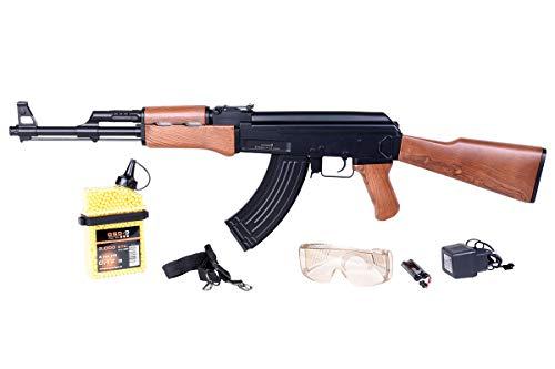 GSG Starterset 47 Airsoft-Gewehr Cal. 6mm BB <0.5Joule frei ab 14 Jahren AEG-System mit 2.000 BBS GRATIS