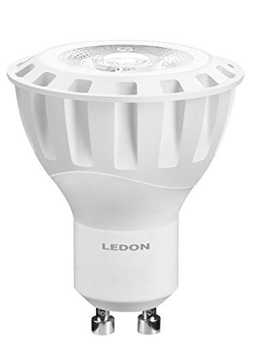Ledon LED Spot MR16 2W - 20W Halogenersatz, warmweiß - 2700K, GU10, beste Farbwiedergabe, Reflektoroptik 29001035