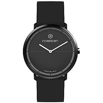 NOERDEN LIFE2 - Negro - Silicona - Reloj híbrido Inteligente - 38 ...