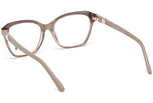 Tod's to5163, occhiali da sole unisex-adulto, rosa, 52.0