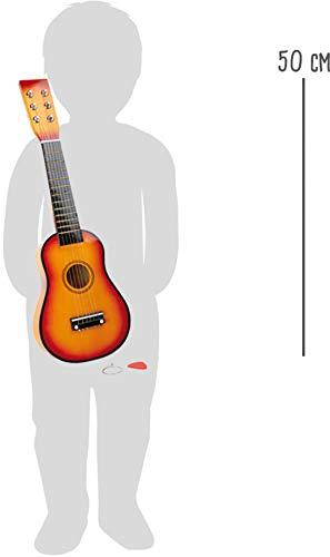 Gitarre / Musikinstrument für Kinder, mit Metallsaiten und Plektrum, geeignet für Kinder ab 3 Jahre - 5