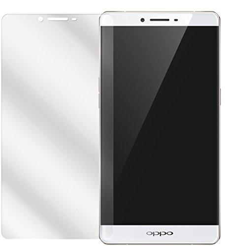 dipos I 2X Schutzfolie klar passend für Oppo R7s Folie Bildschirmschutzfolie