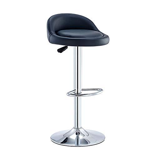 YN Barhocker Bar Chair Lift Rotation Rückenlehne Fußstütze Stuhl Home High Hocker Bar Maniküre...