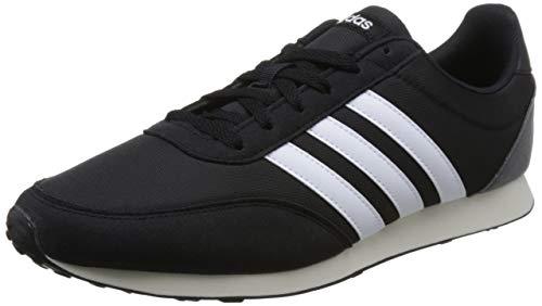 adidas V Racer 2.0, Zapatillas para Hombre, Negro (Core Black/Solar Re