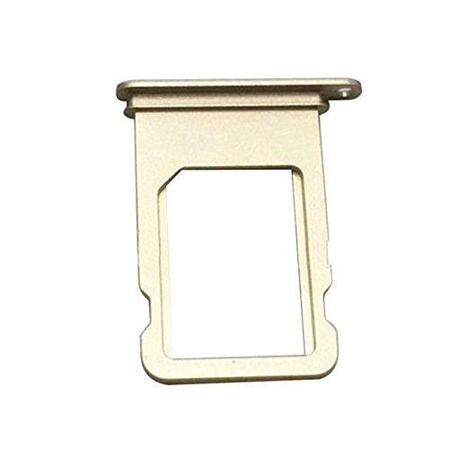 iDigital iPhone 5 Simkarten Halterung Micro SIM Karten Halter Card Tray Holder Adapter Slot für Apple iPhone 5 (Gold) (I Handy-sim-karte 5 Phone)