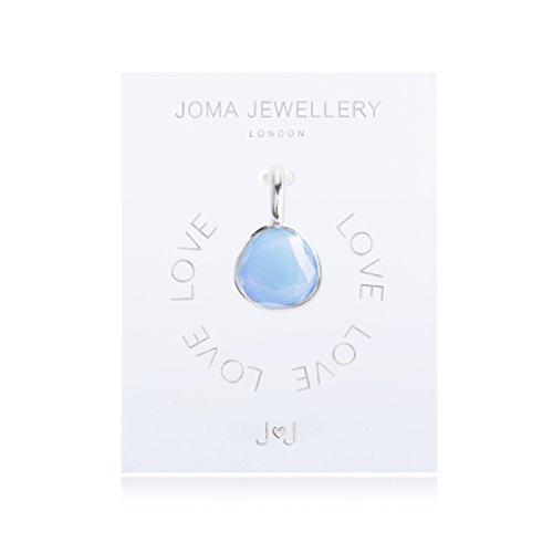 Joma Jewellery Anhänger, Chalcedon in Blau, Silberanhänger