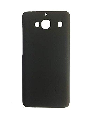 Premsons Rubberised Matte Hard PC Back Cover Case for Xiaomi Redmi 2 Prime (Black)