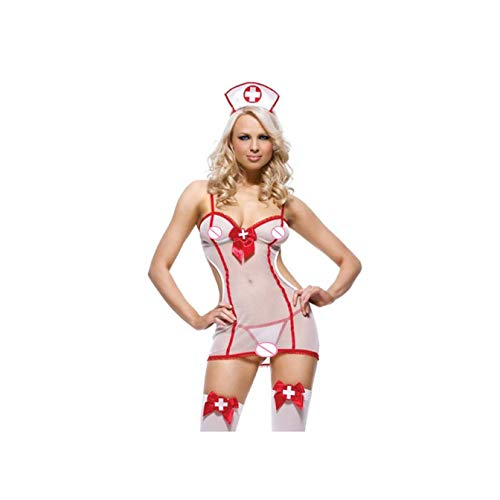 c4456b4b2 Babydoll Underwear Lingerie Sexy Hot Porno Erotic Uniform Nurse Dress For  Women Cosplay Sex Costumes Uniform Halloween Role Play Black XXXL