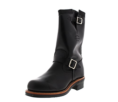 Chippewa 11' Whirlwind Steel Toe Engineer 1901M03 E Black, Größe:US Men 11 / EU 44 Mens Steel Toe Schuh