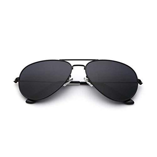 BAIF Polarisierte Sonnenbrille Damen Sonnenbrille männlichen Spiegel Reflexion zustrom von Menschen rundes Gesicht Stern mit dem Absatz Fahren Sonnenbrille (Farbe: j)