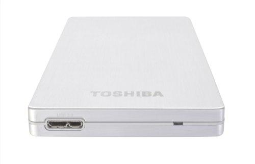 Toshiba PA4238E-1HG5 STOR.E Alu 2S 750GB externe Festplatte (6,4 cm (2,5 Zoll), USB 3.0) silber