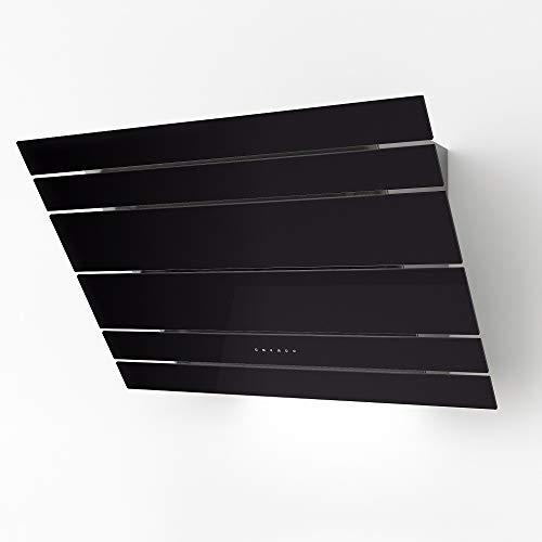 Galvamet/LEVANTE 90/F BK/ 90 cm/Plasma/Kopffreie Dunstabzugshaube Umluft Plasmatechnologie (90 cm schwarz)