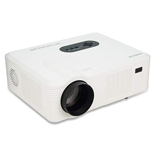 CL720 3000LM 1280x800 Heimkino-LED-Projektor mit Fernbedienung, Unterstützung for HDMI-, VGA-, YPbPr-, Video-, Audio-, TV- und USB-Schnittstellen Beamer (Farbe : Weiß)