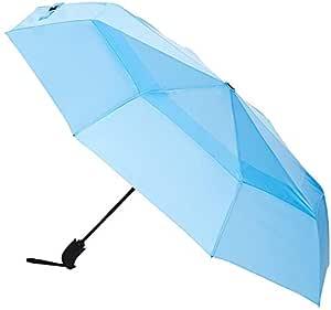 AmazonBasics Umbrella with Wind Vent (Auto-Open & Close Function) - Black