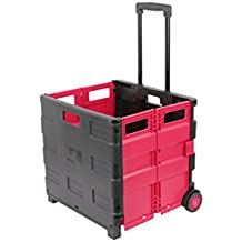 1Plus XXL transporte Trolley Carro–Caja de transporte plegable carro de la compra Roller, 100x 38x 42cm (H x l x B), volumen: 46L), en varios colores